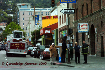 Berkeley,  California, Street Scene Photographed by Gwendolyn Stewart, c. 2011; All  Rights Reserved