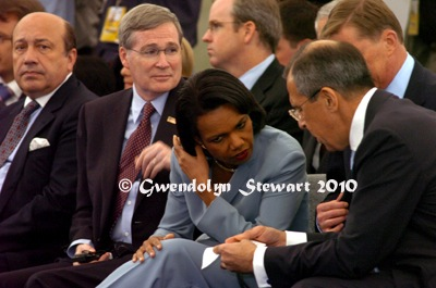 Condoleezza Rice Photographed by  Gwendolyn Stewart, c. 2011; All Rights Reserved