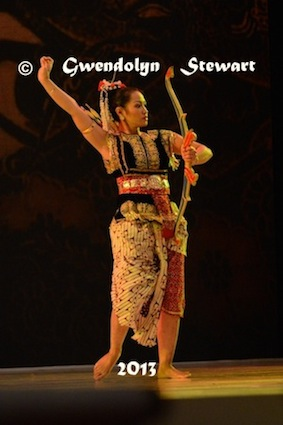 Danced at the Gala Dinner, APEC 2013, Bali, Indonesia,  Photographed by Gwendolyn Stewart, c. 2013; All Rights Reserved
