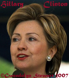 Photograph of HILLARY  RODHAM CLINTON by GWENDOLYN STEWART c. 2015; All Rights Reserved