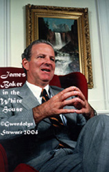 Photograph of JAMES A. BAKER III by GWENDOLYN STEWART c. 2009.  All Rights Reserved