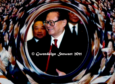 JIANG ZEMIN Photographed by Gwendolyn Stewart c. 2011; All Rights Reserved